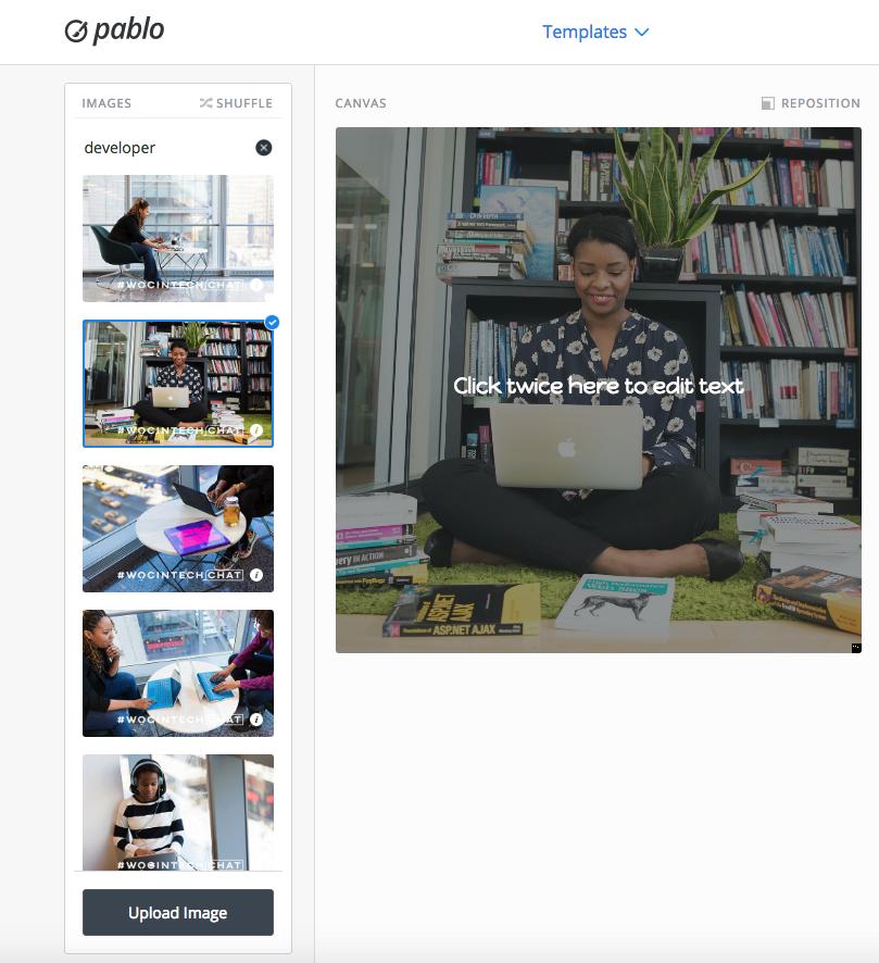 WOCINTECHCHAT 2015 - 2016  creative commons attribution