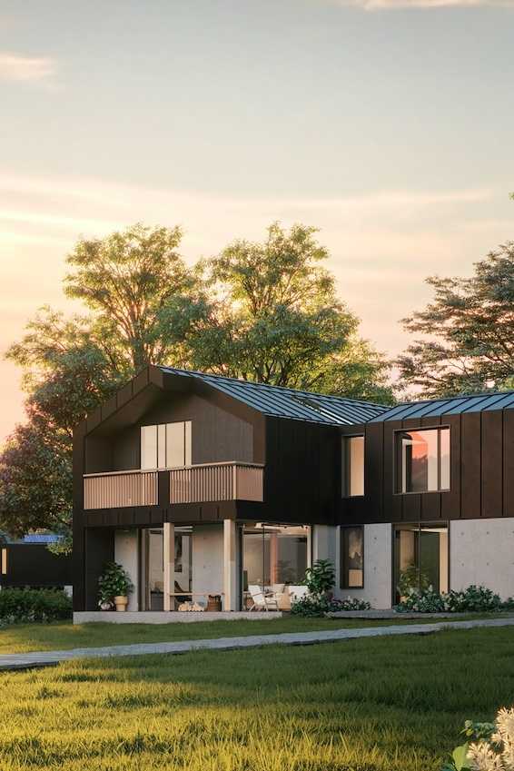 nHouse   With nHouse, I produced a full set of details for the first and second prototype, as well as designing the larger 4 and 5 bed models.  During my time on this project I had to detail with greater specification than I had done previously.   Click for more >