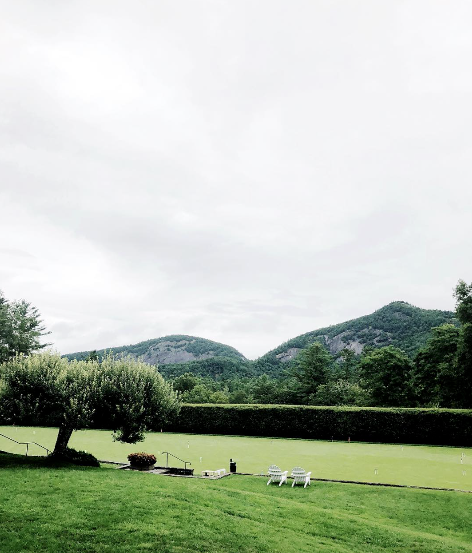 A view from the interior porch of the Chattooga Club. Photo: jessgraves.com