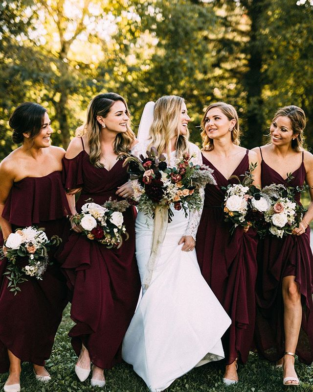 Can't get over these photos!! These ladies were so much fun to work with and it shows in these photos. They are gorgeous and were so sweet!  Hair by us- C.E. Bridal  Makeup by @makeupbychelseyb & @beyoutifulbrides 📸 by @youngglassphotography