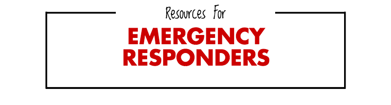 resources for emergency responders