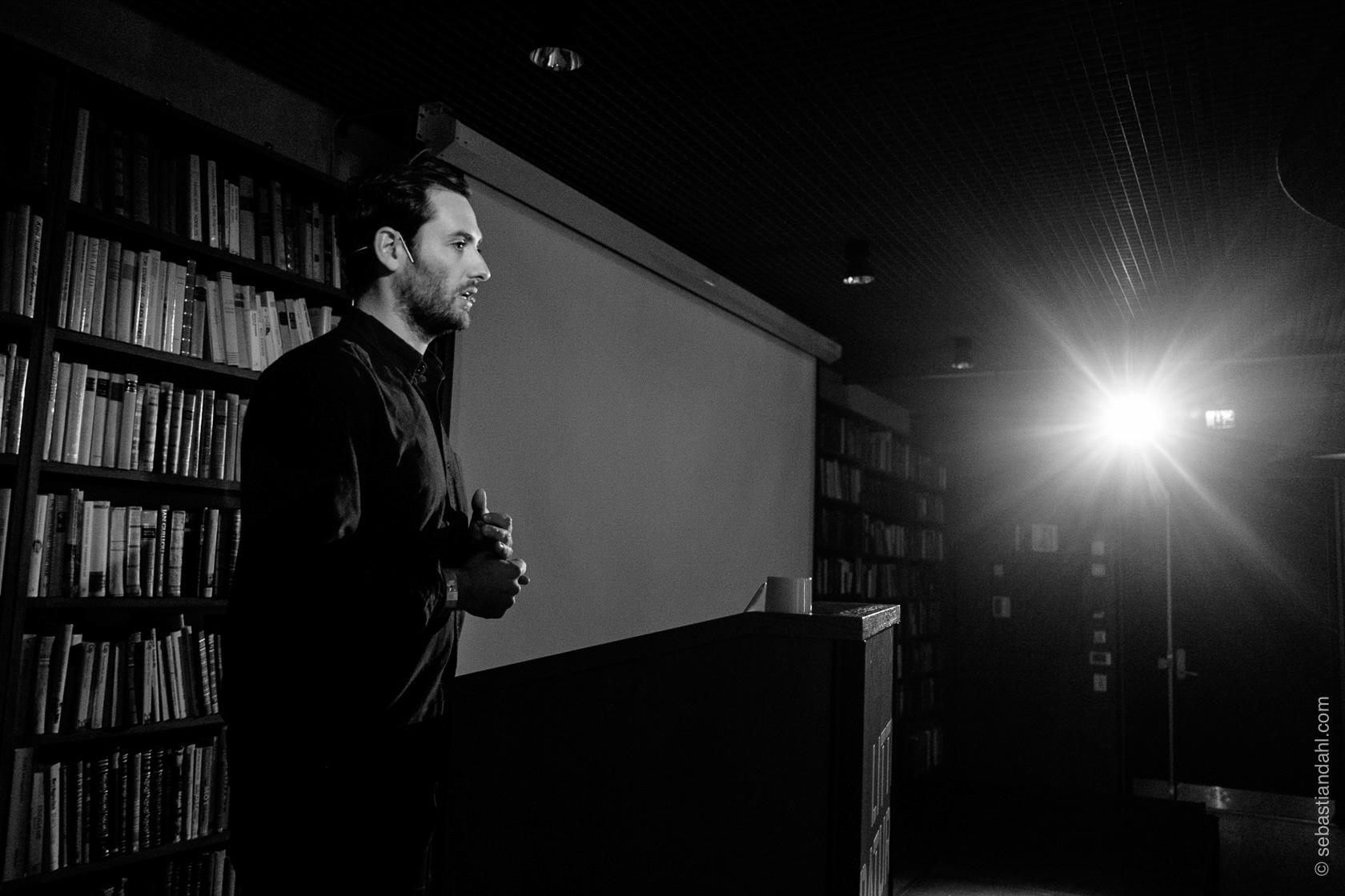 Jerry Ricciotti i Vice on HBO, reiser til noen av verdens farligste områder for å lage dokumentarer.Foto: Sébastian Dahl