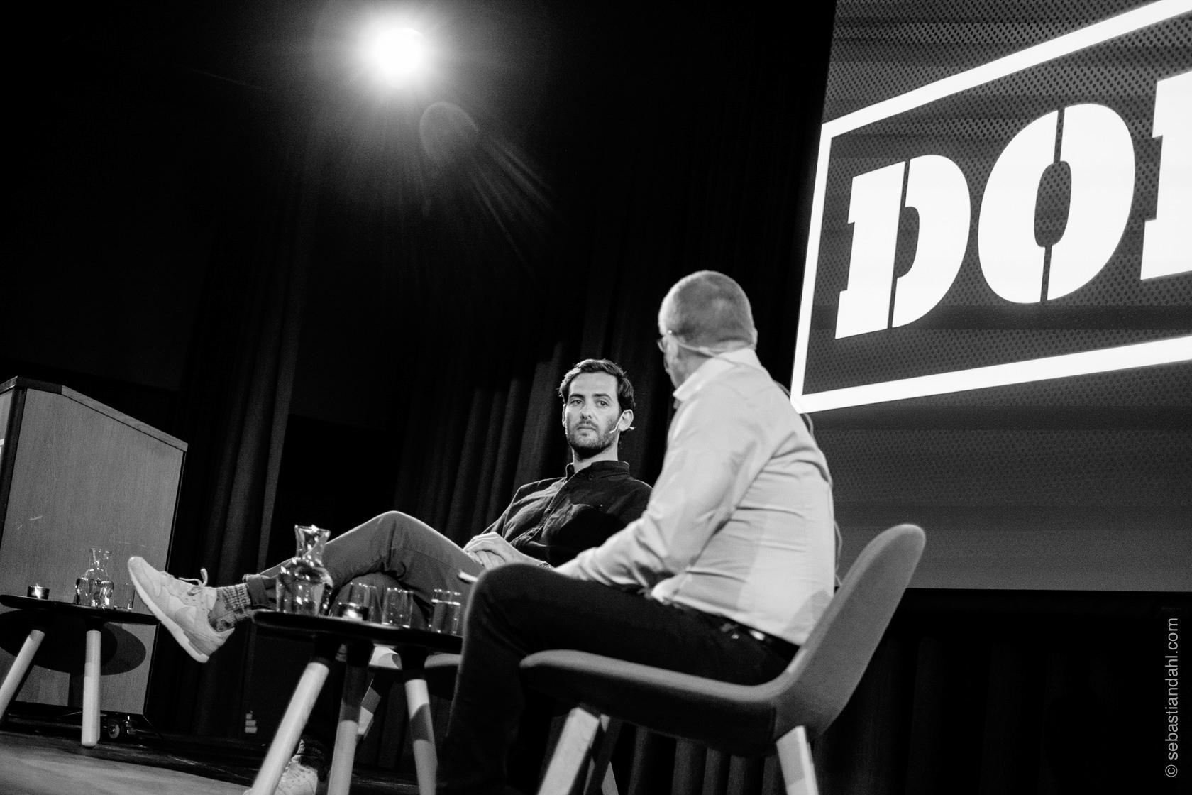 Q&A med Jerry Ricciotti etter kveldsforedraget.Foto: Sébastian Dahl