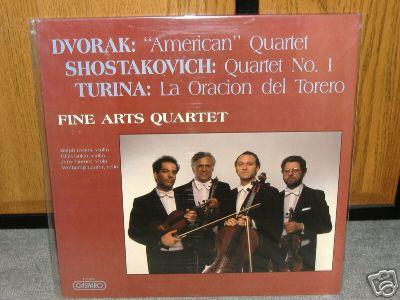 Dvorak, Shostakovich, Turina