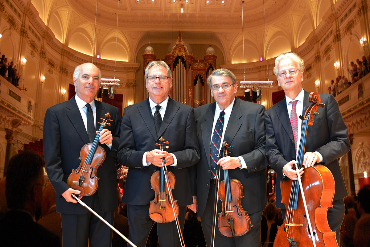 Ralph Evans, Efim Boico, Gil Sharon, and Niklas Schmidt (L-R)