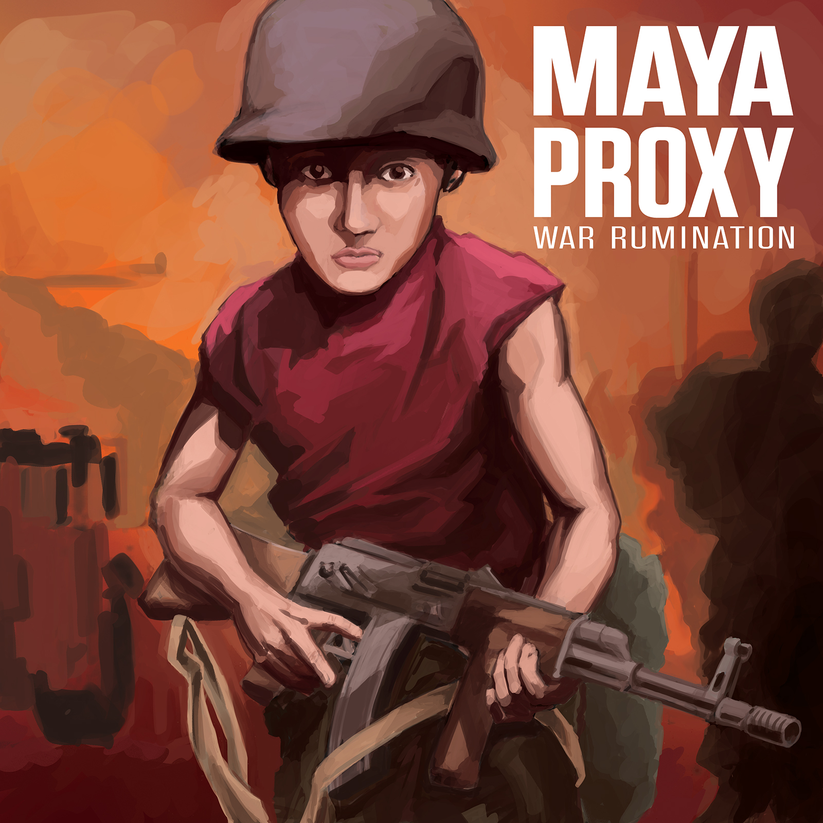 Maya proxy album cover