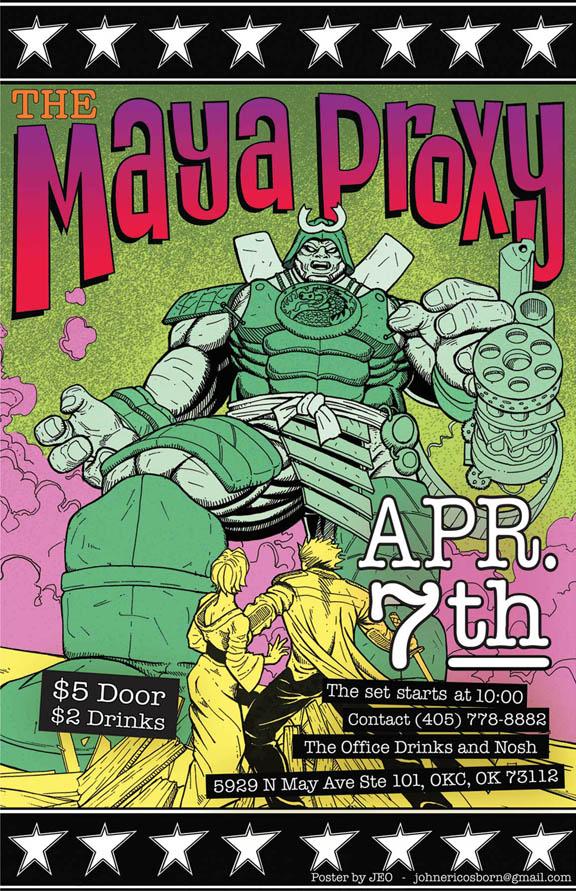 Maya proxy poster