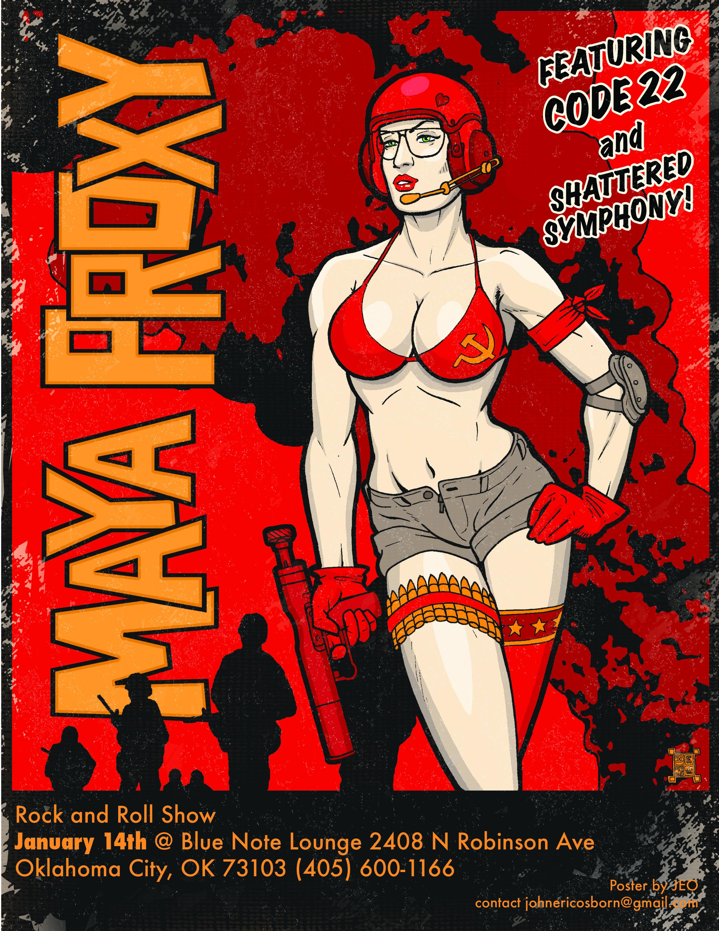 Maya proxy poster 2