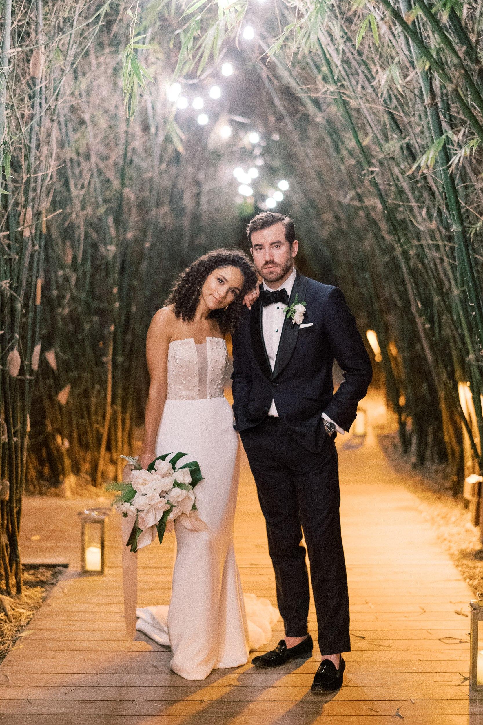 Tropical Destination Wedding at The Nautilus Miami Beach, FL