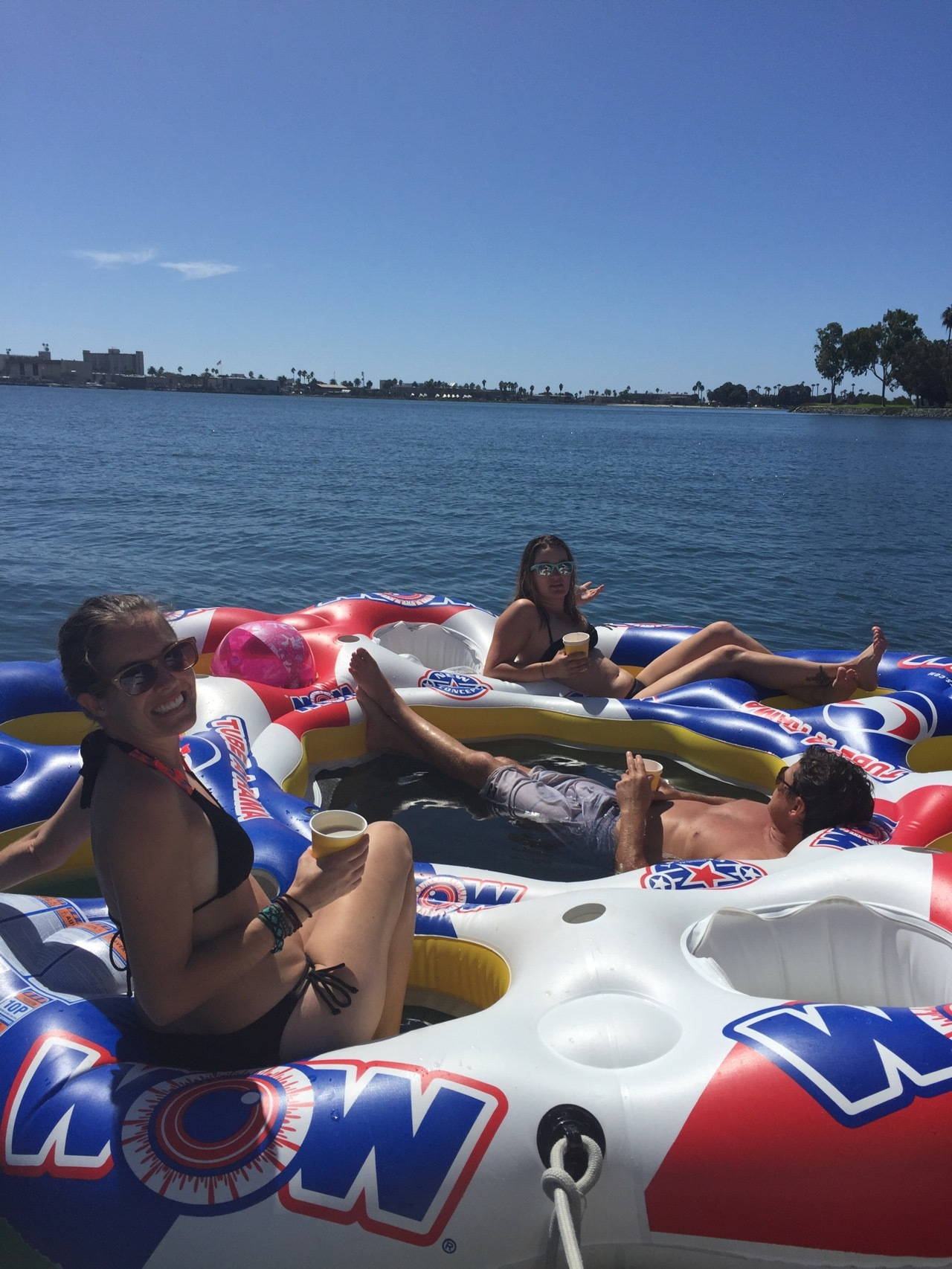 San Diego Bay Bachelorette Boat Party