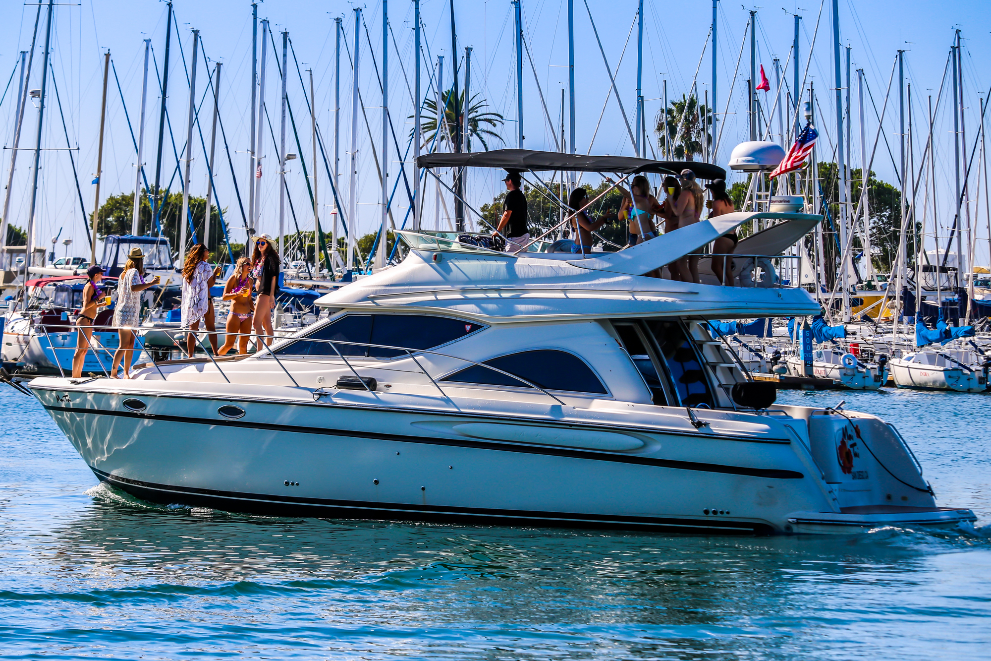 Book your charter today with Mai Tai