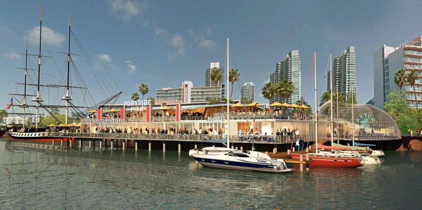 Artist rendering of Brigantine San Diego Bay