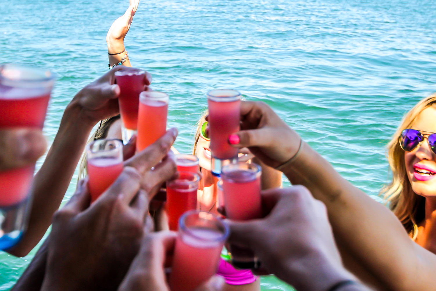 San Diego Bay birthday parties boat party booze cruise