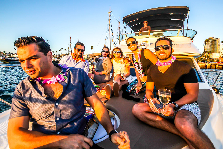 san diego bay bachelor bachelorette party boat