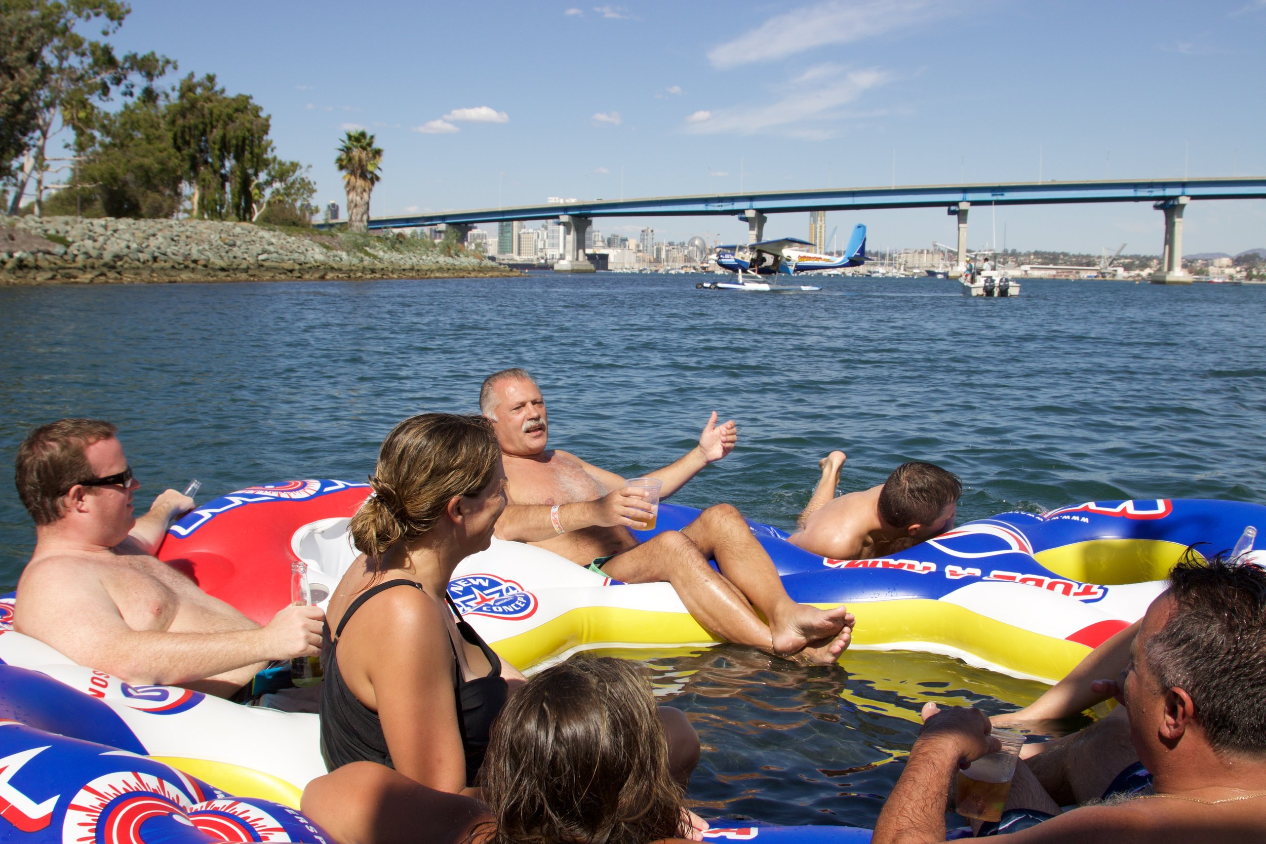 san diego bay yacht charters, booze cruise and boat party