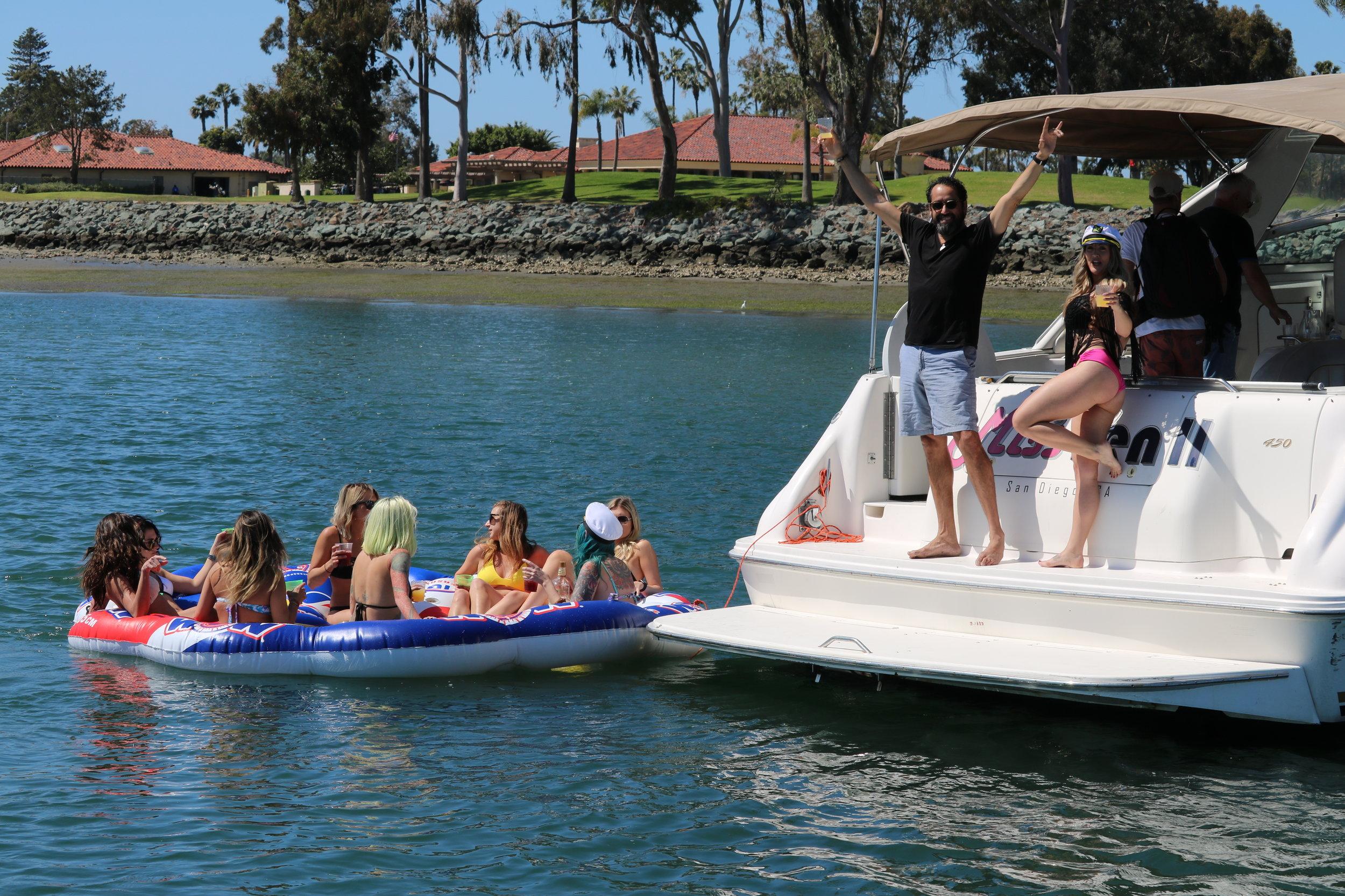Booze Cruise, San Diego Yacht Party
