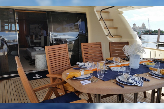 Catari Cabo San Lucas Luxury Charter Yacht