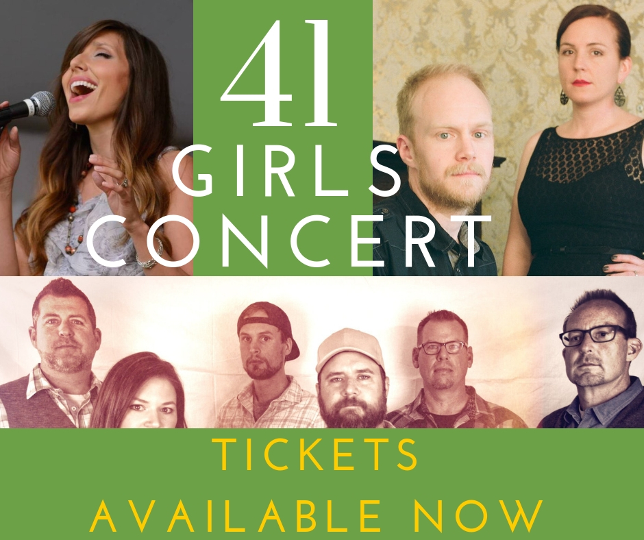 JOIN US!41 Girls Benefit Concert - December 30th at 7:00 PM