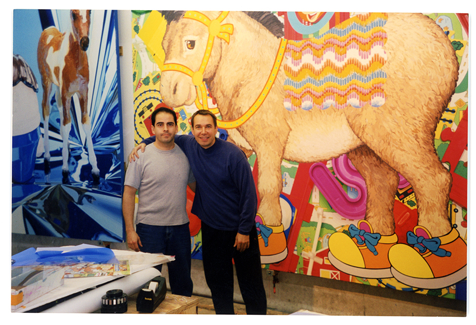 Jeff Koons and I
