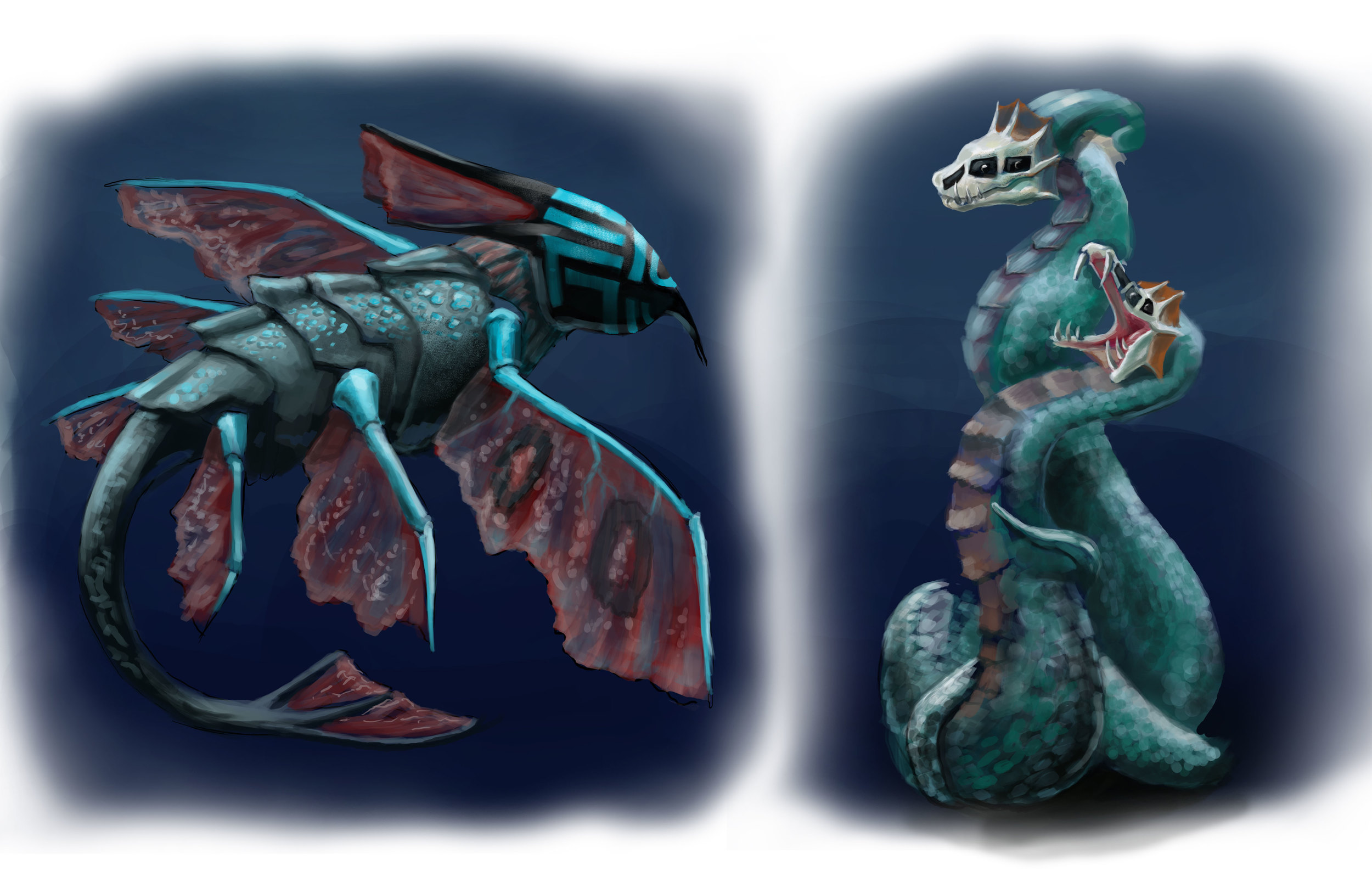 Water Creatures June 2015