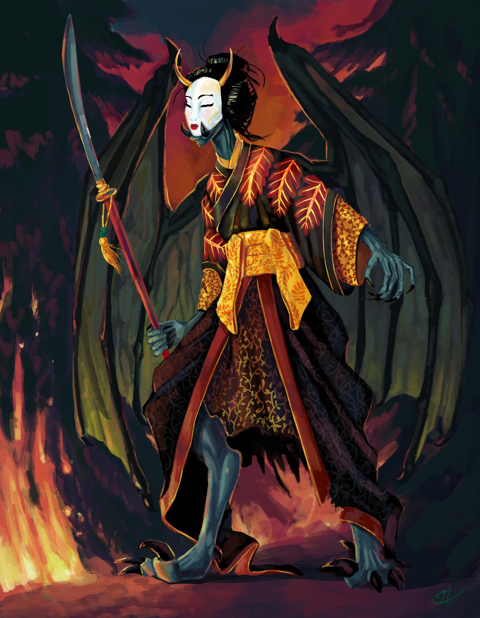 """Kabuki"" Nayaki Anandan 2019"