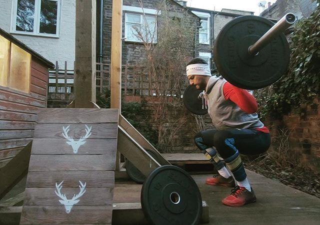 2018! 🎉 Back to garden training! . #Viking