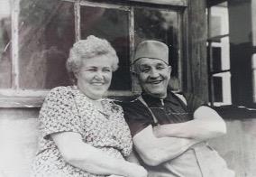 Paula and Arthur Schmidt, 1958