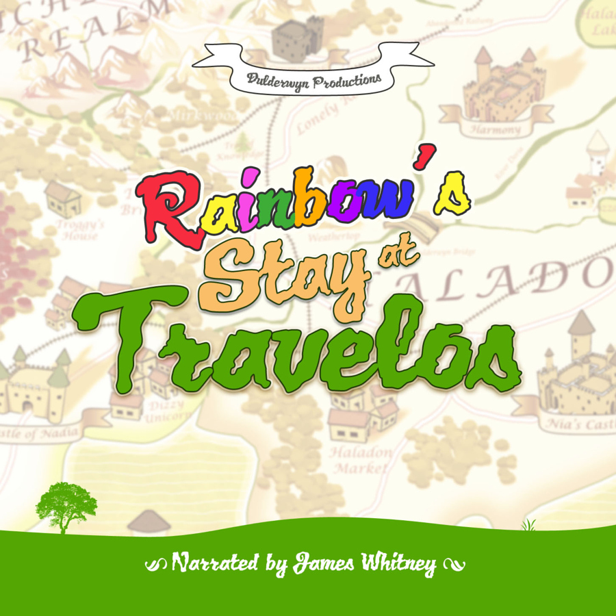 Rainbows Stay At Travelos Front Cover