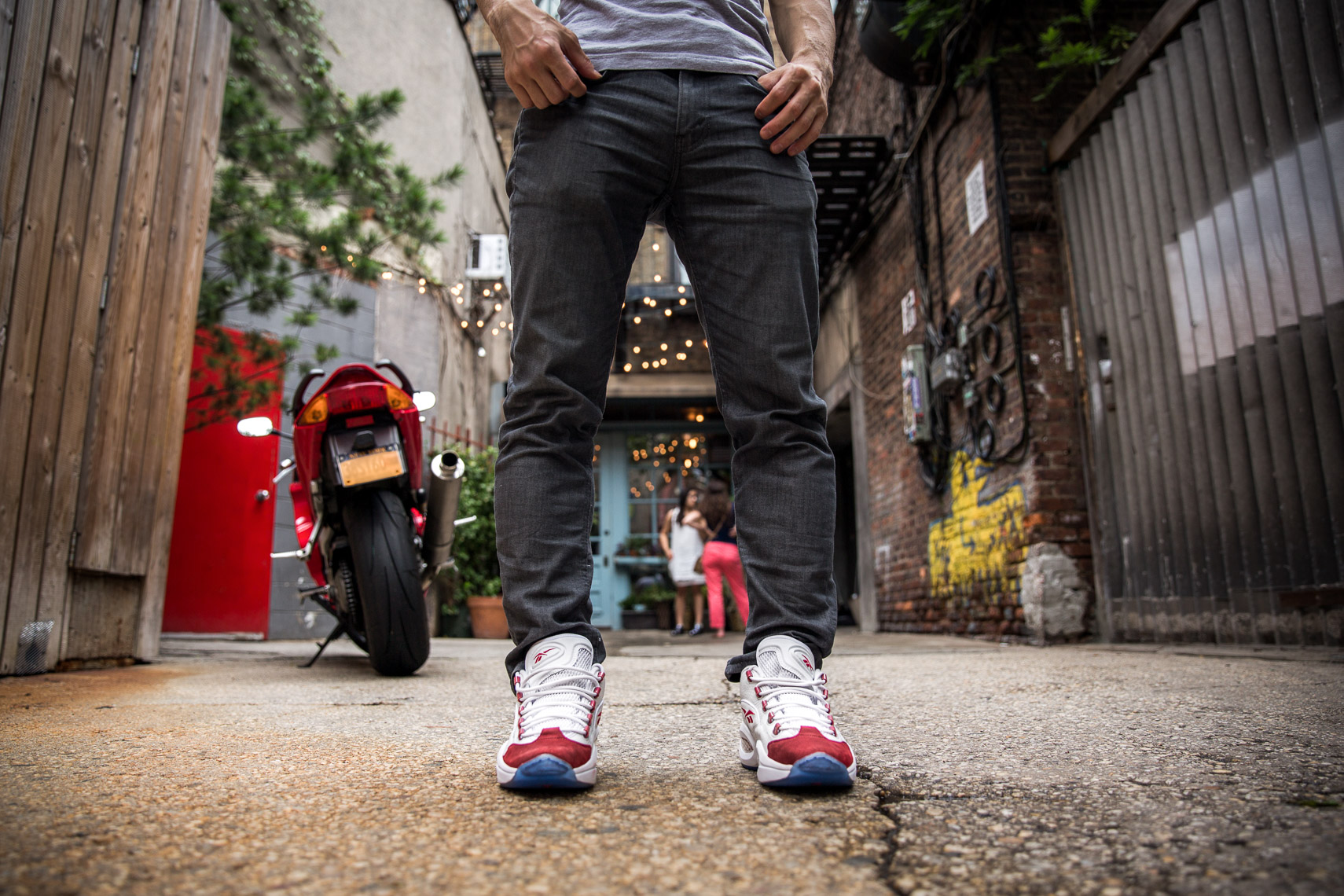 Shot a fun campaign for Reebok for the release of Allen Iverson's newest shoe model.