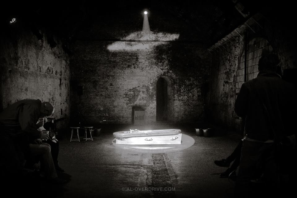 Here's a glimpse of the set, pre show, caught by the talented Al Overdrive! pc: www.al-overdrive.com  C x