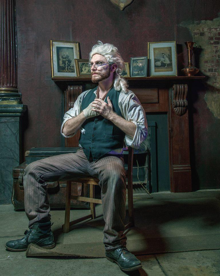 Daniel Christoper as Mozart