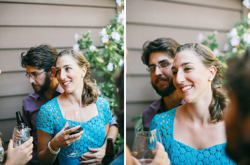 Stinson Beach Community Center Wedding Reception Photos