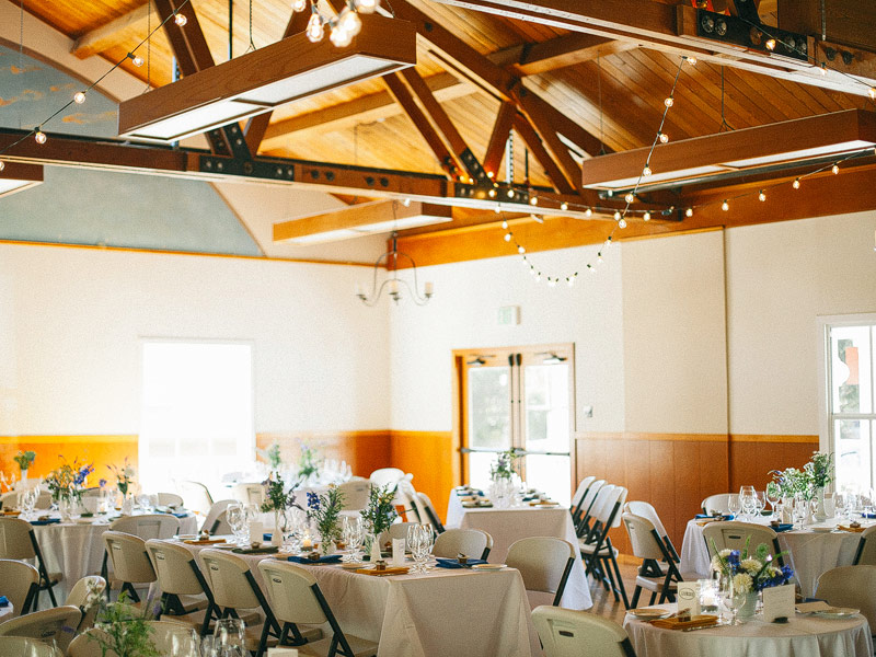 Stinson Beach Community Center Wedding Photos