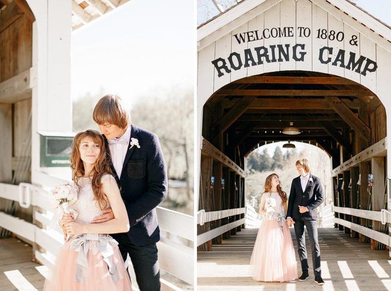 Santa Cruz Film Wedding Photos