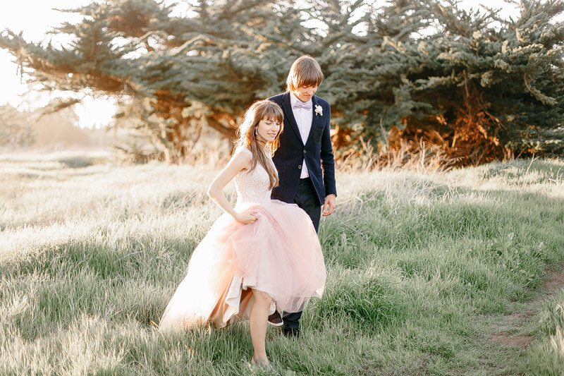 Santa Cruz destination wedding photos