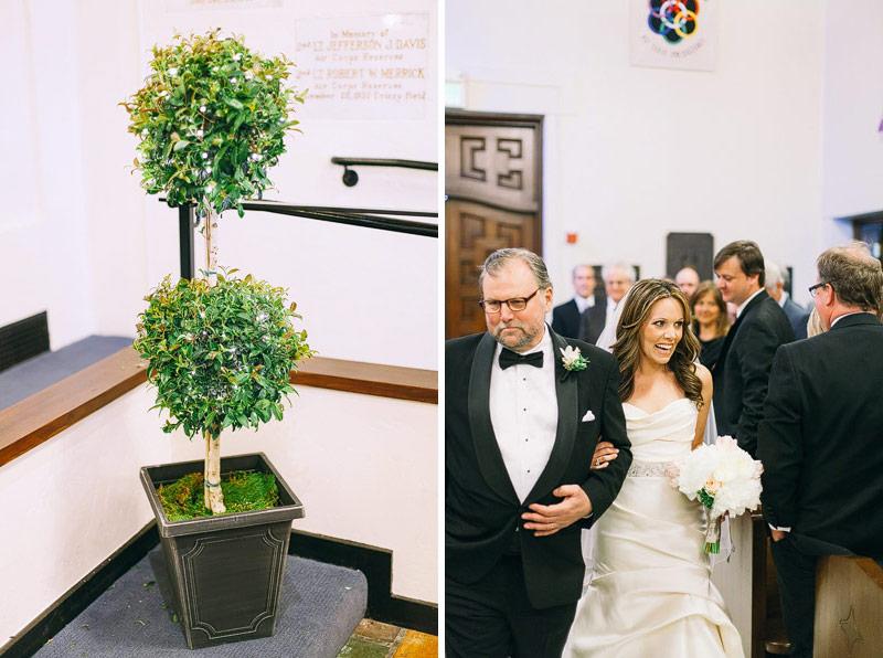 Presidio chapel wedding pictures