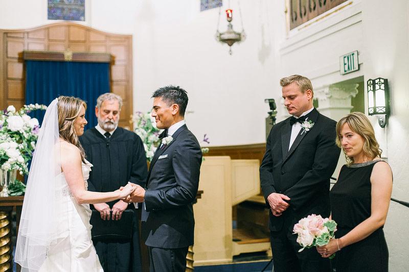 Wedding pictures Presidio chapel