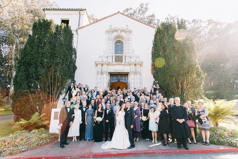 Wedding photos sf Presidio chapel