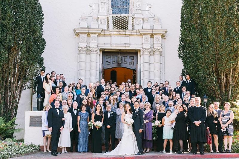 Wedding photos Presidio chapel sf