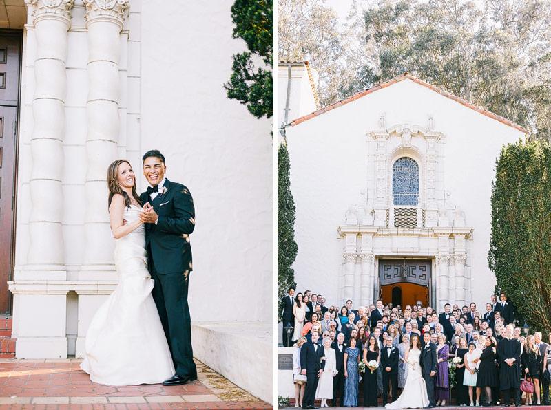 san francisco Presidio chapel Wedding photographer