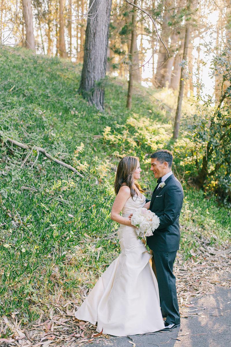 san francisco Presidio chapel Wedding photos