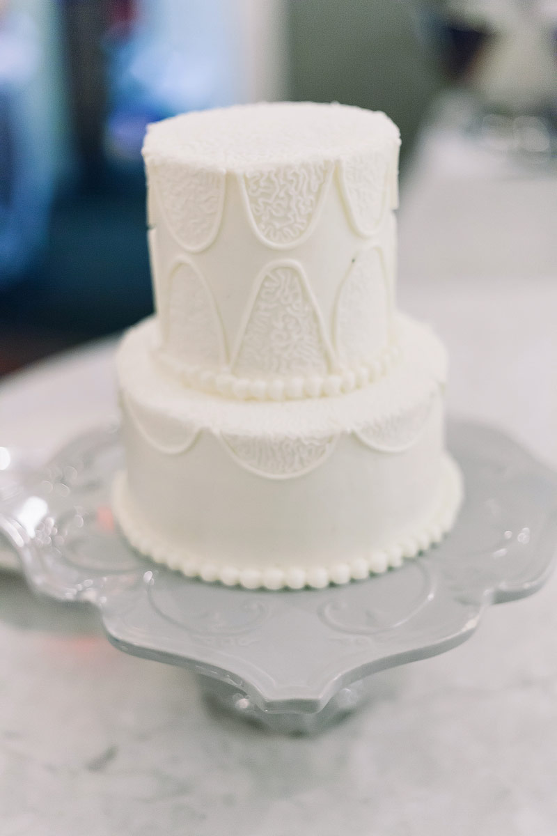 Presidio social club wedding cake photo