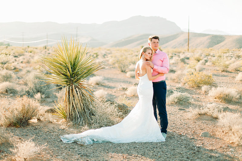 Las Vegas Elopement photos