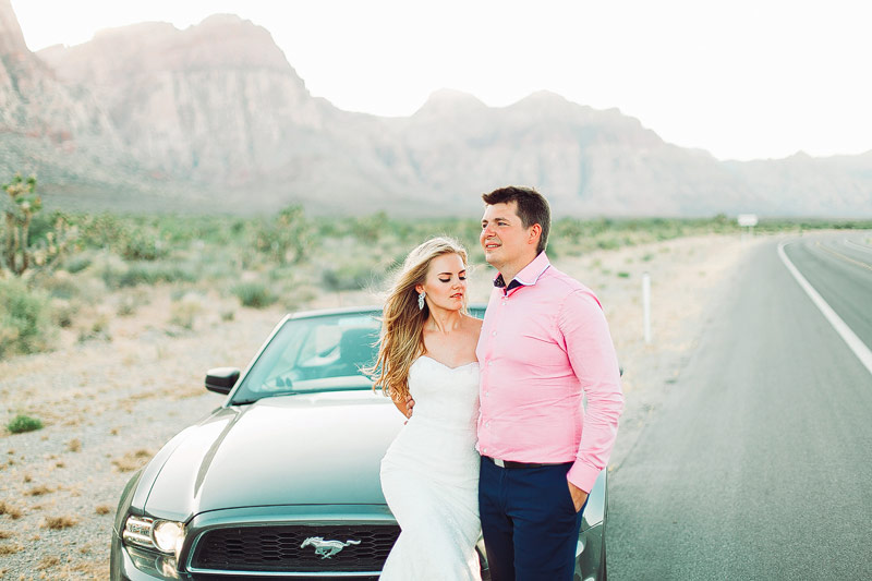 Film wedding photographer Las Vegas