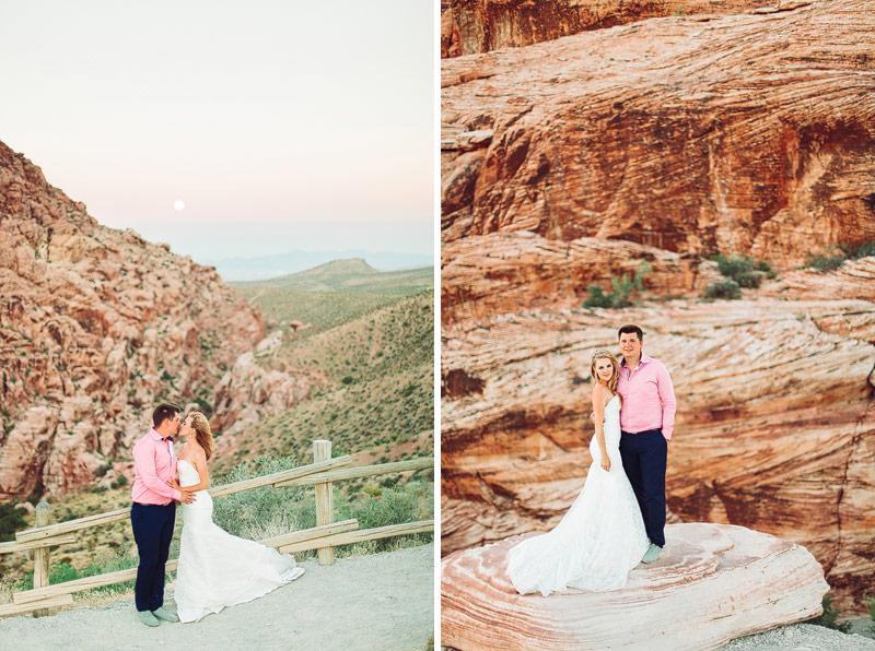 Red Rocks Nevada Wedding Pictures