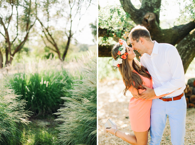 Napa engagement pictures
