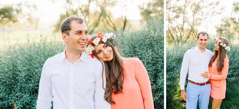Engagement photos Napa