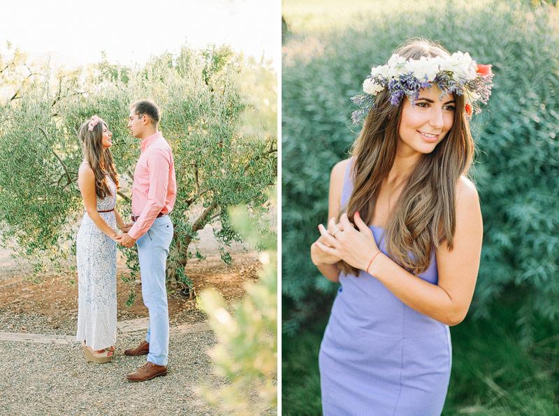 Engagement photographer Napa