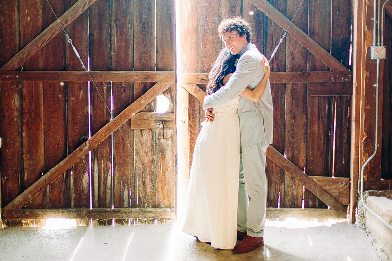 Bolinas wedding film photos