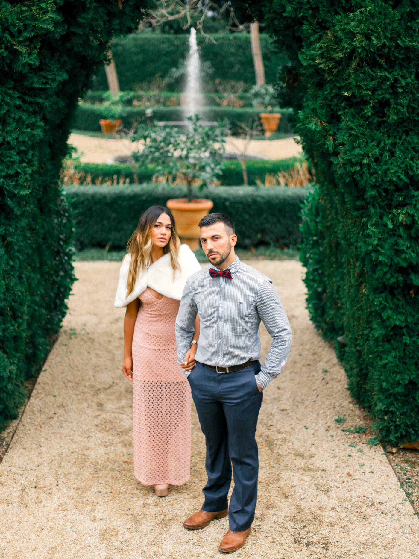 Chateau St Jean Engagement Photography